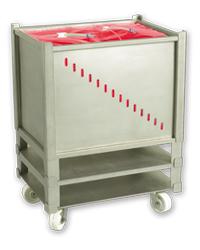 Single-Use Bioprocess Bag for Rectangle Tanks