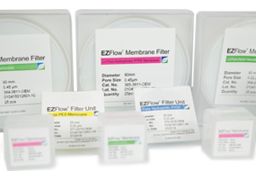 EZFlow Membrane Filters for Bioprocess