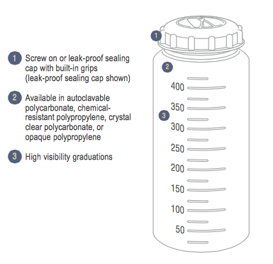 Autofil Centrifuge Bottles